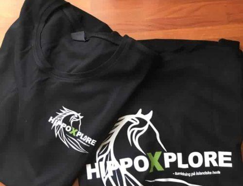 NYHED – HippoXplore t-shirts